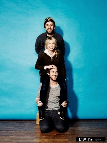 Ryan anak angsa, gosling & Michelle Williams Sundance 2010 Photoshoot