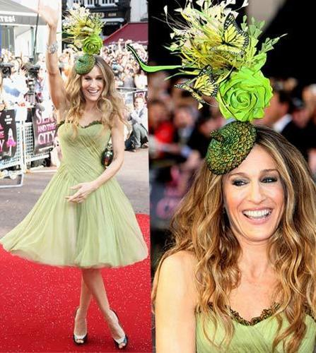SJP at Sex & tHe City London premiere