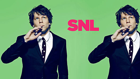 SNL - Jesse Eisenberg As Mark Zuckerberg 593x336