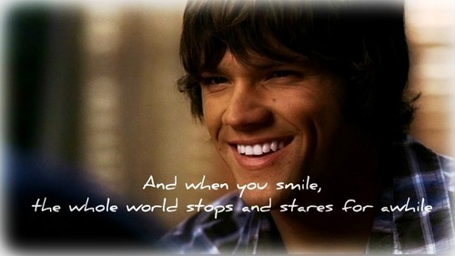 Sammy's smile