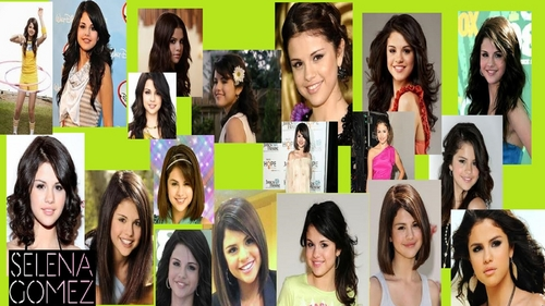 Selena Gomez Collage
