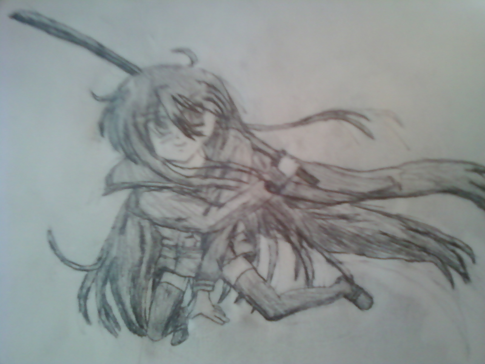 Shana Shakugan no Shana Drawing Shakugan-no-shana Fan Art