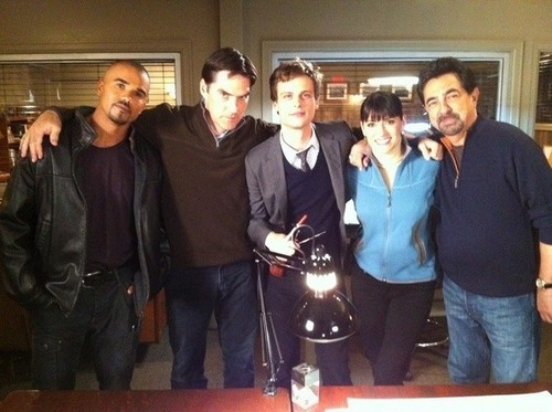 Shemar, Thomas, Matthew, Paget and Joe