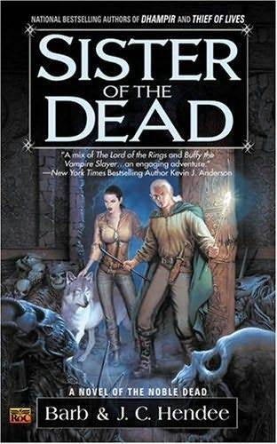 Sister of the Dead US Cover Magiere, Leesil and Chap