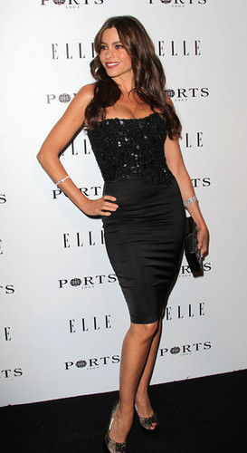 Sofia Vergara - ELLE Women In ویژن ٹیلی Event - Red Carpet