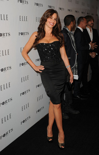 Sofia Vergara - ELLE Women In televisi Event - Red Carpet