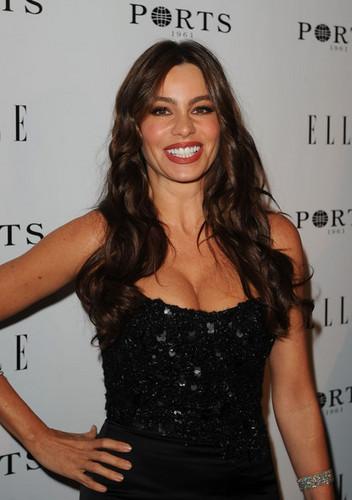 Sofia Vergara - ELLE Women In televisi Event - Red Carpet