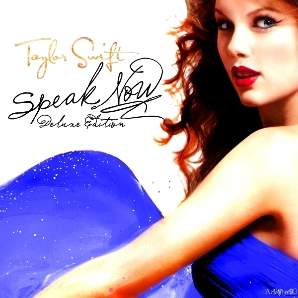 Taylor Swift - Speak Now (Deluxe Edition) [My FanMade Album Cover]