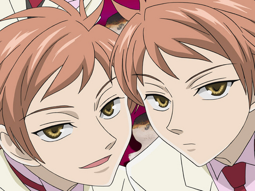 ouran high school host club wallpaper titled The Twins
