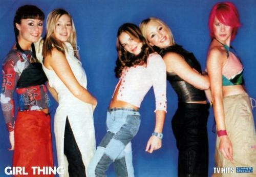 The members of Girl Thing
