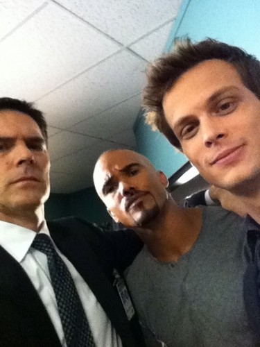 Thomas, Shemar and Matthew