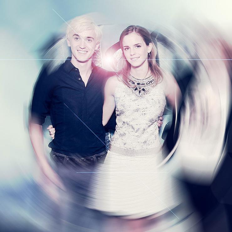 tom felton and emma watson. Tom and Emma