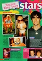 Tyson Ritter as a baby magazine scan