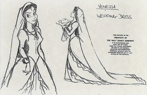 Vanessa - Wedding Dress (Character Design)