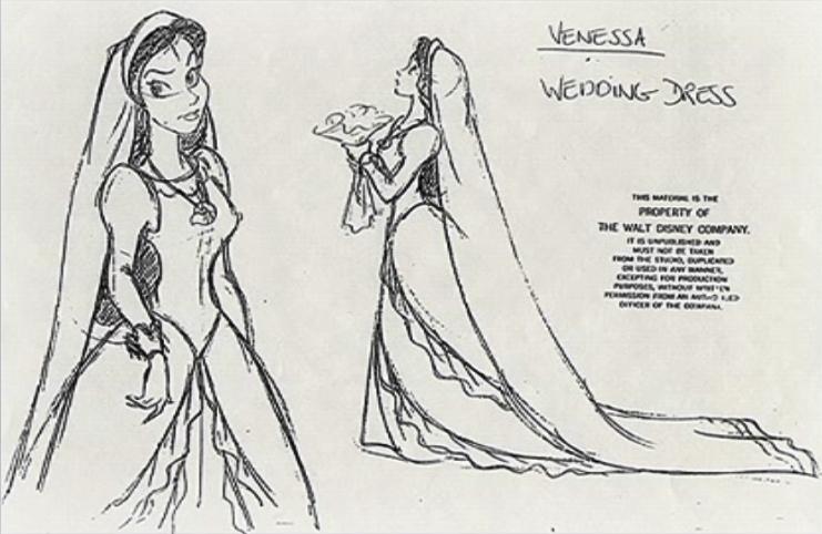 Vanessa Wedding Dress Character Design The Little Mermaid Photo