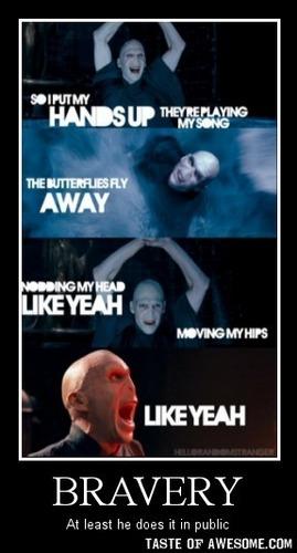 Voldemort Likes Miley Cyrus