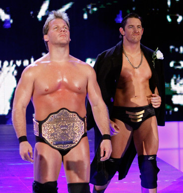 Wade Barrett and Chris Jericho