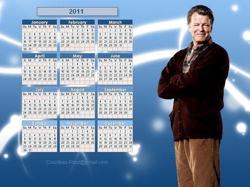 Walter Bishop - 2011 calendar