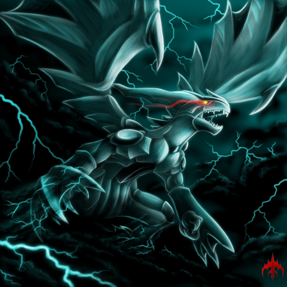 Zekrom - Pokémon Fan Art (18896557) - Fanpop Xerneas Yveltal Zygarde Wallpaper