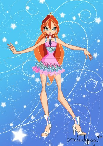 The Winx Club پیپر وال titled bloom
