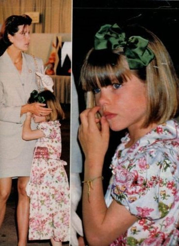 charlotte casiraghi caroline. charlotte and mother princess