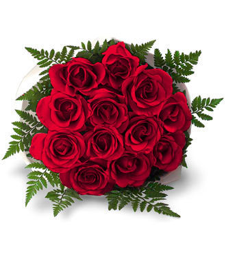 I Love Red Roses wallpaper probably with a bouquet and a rose entitled dozen rooses
