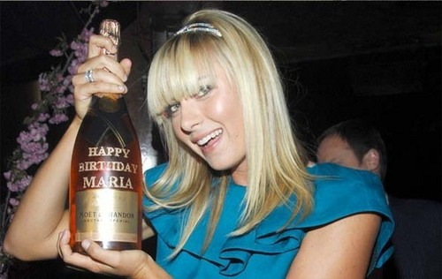 Maria Sharapova kertas dinding entitled happy birthday