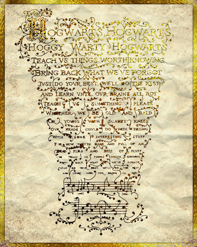 hogwarts song