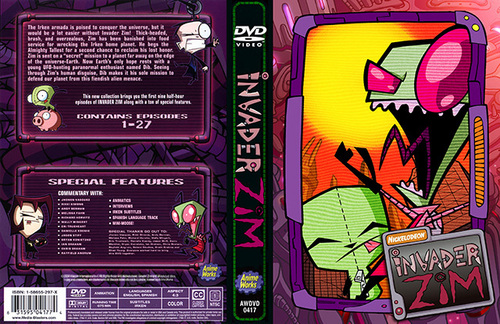 Video Games wallpaper probably with anime called invader zim game