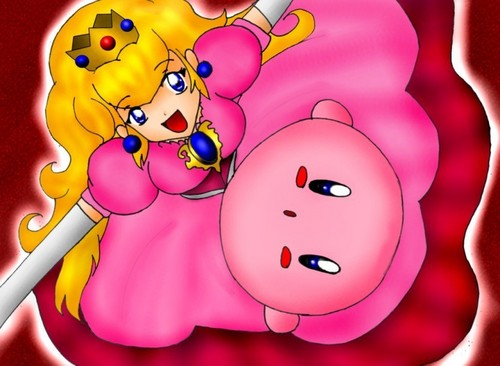 Princess Peach images kirby and peach HD wallpaper and background photos
