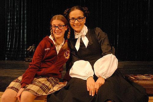 patty and her teacher