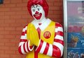 preying clown - mcdonalds photo