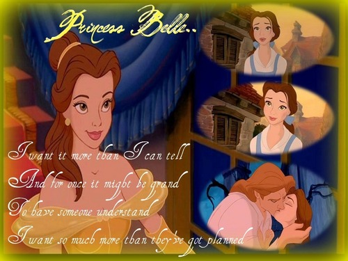 Belle wallpaper possibly with anime and a portrait entitled princess belle i want ...