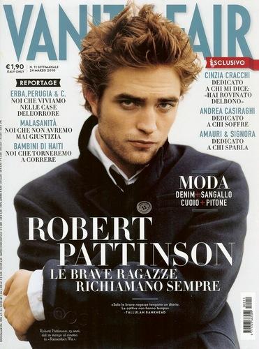 robert pattinson- Vanity fair scans