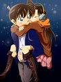 shinichi n ran.. - shinichi-and-ran fan art