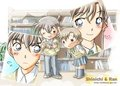 shinichiXran.. - shinichi-and-ran fan art