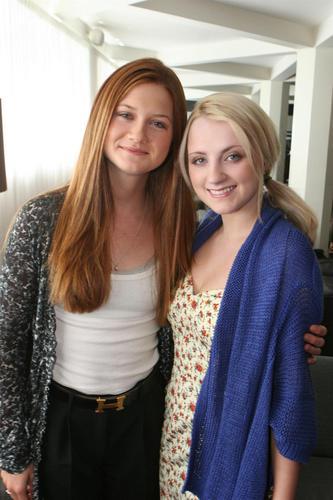 ♥HP Lovely Cast♥ Bonnie & Evanna
