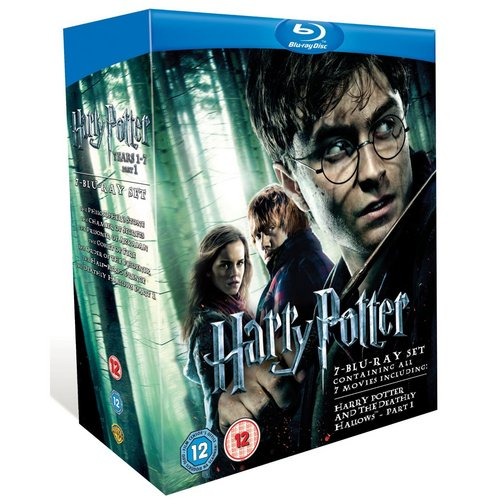 1 to 7 Harry Potter pack