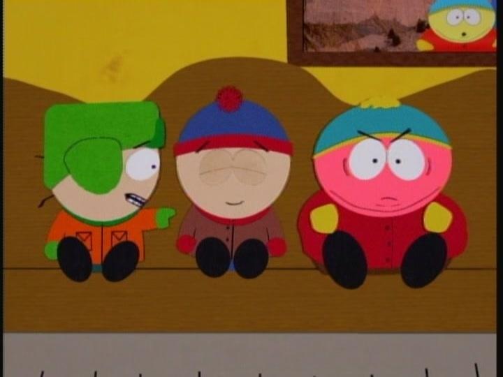 Cartmans mom is a slut
