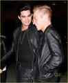 Adam Lambert & Sauli Koskinen: Grand Havana Room Visit! - adam-lambert photo