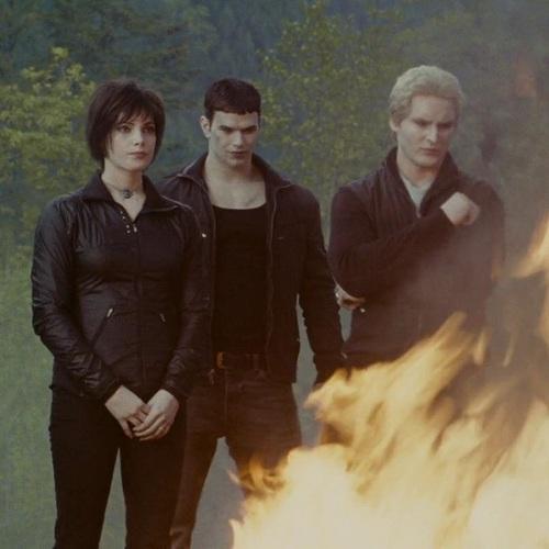 Alice, Emmett and Carlisle