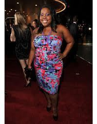Amber Riley very cute at the red carpet