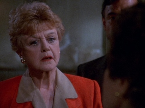 Angela Lansbury as Jessica Fletcher - murder-she-wrote Screencap