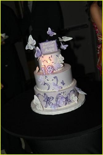 Ashley Argota: farfalla Birthday Cake!