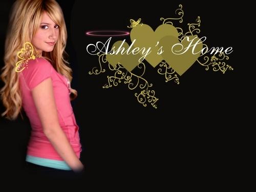 Ashley Tisdale Hintergrund ❤