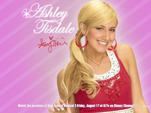Ashley Tisdale 壁纸 ❤