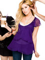 Ashley Tisdale on seventeen magazine photoshoot November, 2008