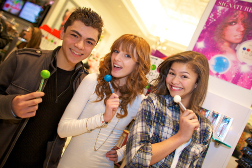 At The Sugar Factory With Adam And Zendaya