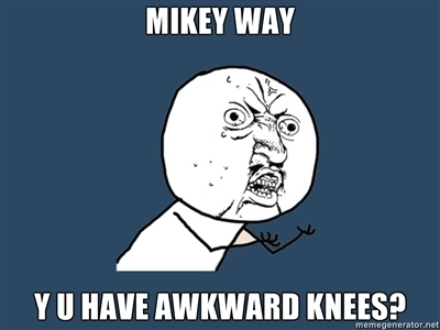 Awkward Knees