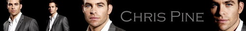 Chris Pine foto possibly with a spatola titled Banner Art